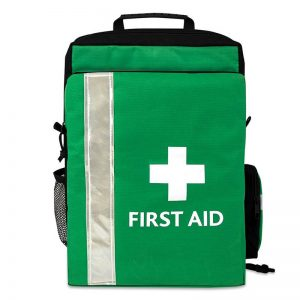 A fully equipped First aid trip kit backpack